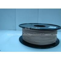 Buy cheap 0.8KG / roll 3D Printer 1.75mm Wood Filament Material Compatible With Makerbot / UP from wholesalers