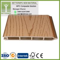 Buy cheap Fire Resistant House Building Decorative Composite Wall Panel Profiles Wood Plastic Waterproof WPC Wall Panel Outdoor from wholesalers