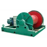 Buy cheap Cargo material lifting electric motor engin wire rope pulling steel electric winch from wholesalers