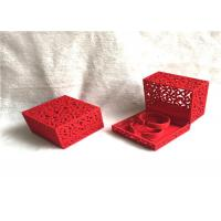 Buy cheap Handmade Wooden Jewelry Box For Necklaces , Jewellery Packaging Box Eco Friendly from wholesalers