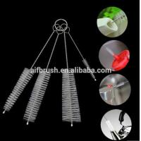 Buy cheap China factory 4 In 1 Cleaning Brush set For Teapot Nozzle Spout Tube brush from wholesalers