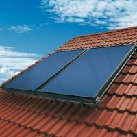 Buy cheap Eco friendly blue tinox flat plate solar collector from wholesalers