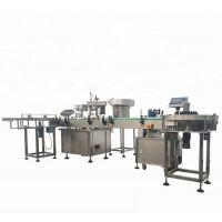 Buy cheap High Capacity Automatic Bottle Filling And Capping Machine With 4 Filing Nozzles from wholesalers