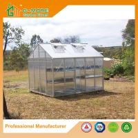 Buy cheap Optional PC/Glass Glazing, Freely Extended Hobby Polycarbonate Greenhouse - 319X253X250CM (L X W X H) from wholesalers