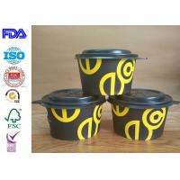 Buy cheap Professional Paper Salad Bowls Disposable Soup Bowls With FDA Certificate product