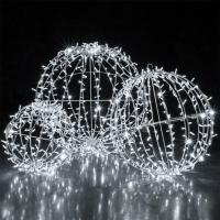 Buy cheap Christmas large outdoor led sphere waterproof ball light ,outdoor hanging light balls from wholesalers