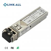 Buy cheap 1.25G CWDM 40km Distance SFP Optical Transceiver with 1270nm~1610nm from wholesalers