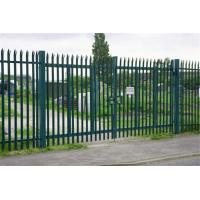 Buy cheap Euro Style Free Standing Metal Palisade Fence / Wrought Iron Fence Panel Hot Sale from wholesalers