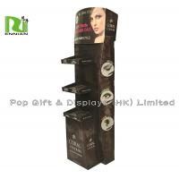 Buy cheap 3 Layers Eyebrow Cardboard Floor Displays Corrugated Point Of Purchase Displays from wholesalers