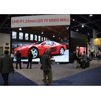 Buy cheap P1.2mm indoor untra high definition advertising led display for high end market / UHD 4K 8K P1.2mm large led tv screen from wholesalers