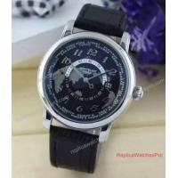 Buy cheap HMontblanc Heritage World Map Watch On Sale Stainless Steel Watch from wholesalers