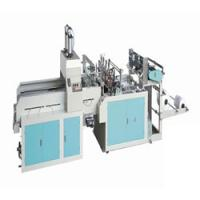 Buy cheap Fully automatic double line T-shirt type Plastic bag making machine from wholesalers