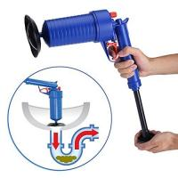 Buy cheap Home Office Toilet Floor Drain Tubs Sinks Air Power Plunger Blaster Pump Cleaner from wholesalers
