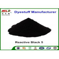 Buy cheap ISO Textile Reactive Dyes Reactive Black 5 Reactive Cotton Fabric Powder Tie Dye from wholesalers