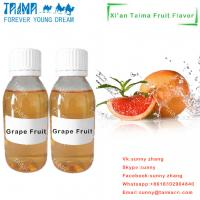 Buy cheap Professional manufacture high quality Fruit aroma liquid concentrate Grape Fruit flavor for vape product