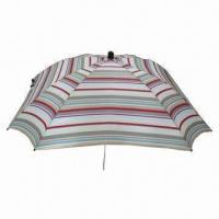 Buy cheap Umbrella for Baby Stroller, with Fiberglass Rib and Steel Shaft, Made of 600D Oxford Fabric from wholesalers