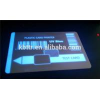 Buy cheap Security blue uv ribbon  p330i on PVC card from wholesalers