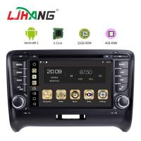 Buy cheap Steering Wheel Control Audi In Car Dvd Player , Audi TT Car Dvd Player Gps Navigation from wholesalers