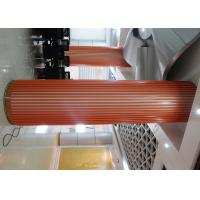 Buy cheap Decoration U-Aluminium Profile Screen Ceiling , Wood Like Aluminum Square Tube Ceiling from wholesalers