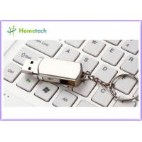 Buy cheap Rotated Metal USB Flash Drives / personalized jump drives Swivel Style from wholesalers