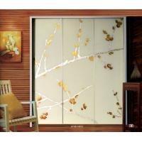 Buy cheap Contemporary Decorative Laminated Glass Doors Interior For Wardrobe Door from wholesalers