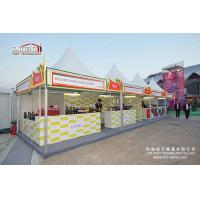 Buy cheap aluminium frame garden marquee pagoda tent for show from wholesalers