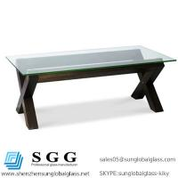 Buy cheap Excellence quality Glass Coffee Tables top from wholesalers