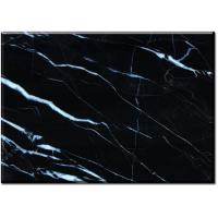 Buy cheap Nero Margiua Black cleaning marble floor tiles 12 x 12 16 x 16 24 x 24 from wholesalers