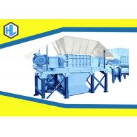 Buy cheap Q235 Material Wood Waste Shredder Machine , Industrial Paper Shredder Machine from wholesalers