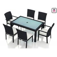 Buy cheap Outdoor Patio Furniture High Top Table , Commercial Grade Outdoor Dining Furniture Table from wholesalers