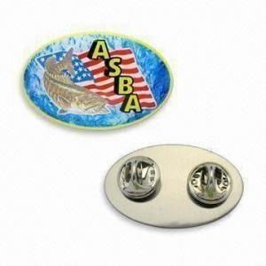 Buy cheap Metal Emblem Medal/Metal Lapel Pins, Available in OEM Designs product
