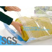 Buy cheap bedding with suction valve, Vacuum Bags Storage For Clothes With Pump, vacuum compressed bags, bagplastics, bagease from wholesalers