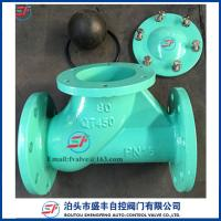 Buy cheap shengfeng HQ41X high quality low price ductile iron Rolling-ball Check Valve with low price from wholesalers