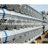Buy cheap en10217.1 ERW Hot dipped galvanized round steel pipe/gi pipe pre galvanized steel pipe from wholesalers