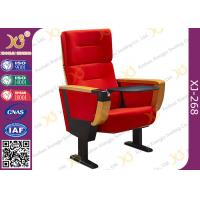 Buy cheap Foldable Auditorium Theater Seating With Big Food Table In Armrest from wholesalers