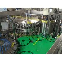 Buy cheap SUS304 Glass Bottling Equipment Lubricated Regularly 3 In 1 Rising Filling Seaming from wholesalers