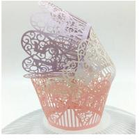 Buy cheap Elegant design cupcake wrappers/Cupcake Decorate/Cake wrappers from wholesalers