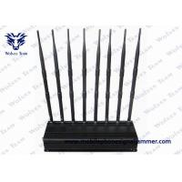 Buy cheap GSM CDMA Remote Control Jammer 50 - 60Hz For 3G 4G Mobile Phone Signal from wholesalers