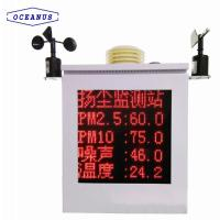 Buy cheap OC-9000 Air quality monitor system for inspection the SO2, NO2, CO, O3, PM2.5, PM10, etc. product
