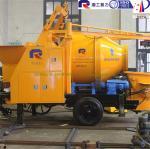 Buy cheap Electric mixer electric cement mixer pump trailer used concrete pumps concrete mixer from wholesalers