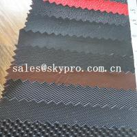 Buy cheap Durable PVC synthetic leather for car seat and sofa various pattern pu leather from wholesalers
