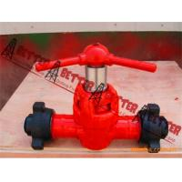 Buy cheap BETTER Z23Y style Metal Seal Mud Gate Valve Metal to Metal sealing,Alloy Steel Body, Union, Flanged, BW Connection from wholesalers