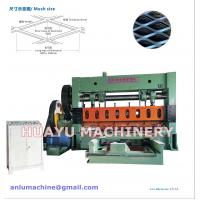 Buy cheap Heavy-duty Expanded Metal Mesh Machine for Basketry Mesh Making from wholesalers