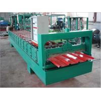 Buy cheap Agent price High precision automatic metal roof tile making machine from wholesalers