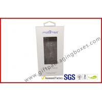 Buy cheap offset print paper box Card board packaging box with clear PVC window from wholesalers
