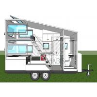 Buy cheap Fireproof Material Prefab Mobile Homes , Premade Mobile Homes 50 Years Lifetime from wholesalers