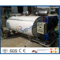 Buy cheap SUS304 SUS316 Self Cooling Stainless Steel Tanks For Fresh Milk Cooling from wholesalers