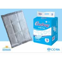 Buy cheap Nonwoven Absorbent Disposable Bed Liner Pads For Health / Personal Care from wholesalers
