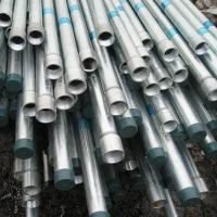 Buy cheap A53 gr.C Ends Threaded Galvanized Steel Pipe With Coupling Connector from wholesalers