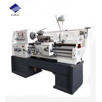 Buy cheap Horizontal Manual Lathe Machine 65 - 1400rpm Spindle Speed 380V / 220V Voltage product